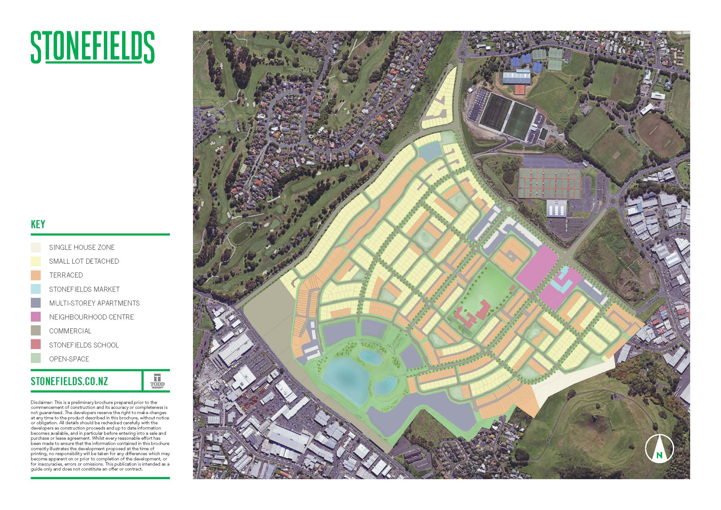 Stonefields Masterplan area