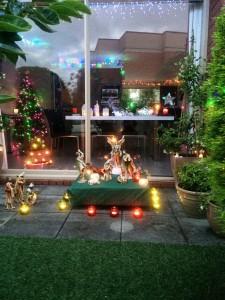 Spencer Family Nativity Scene