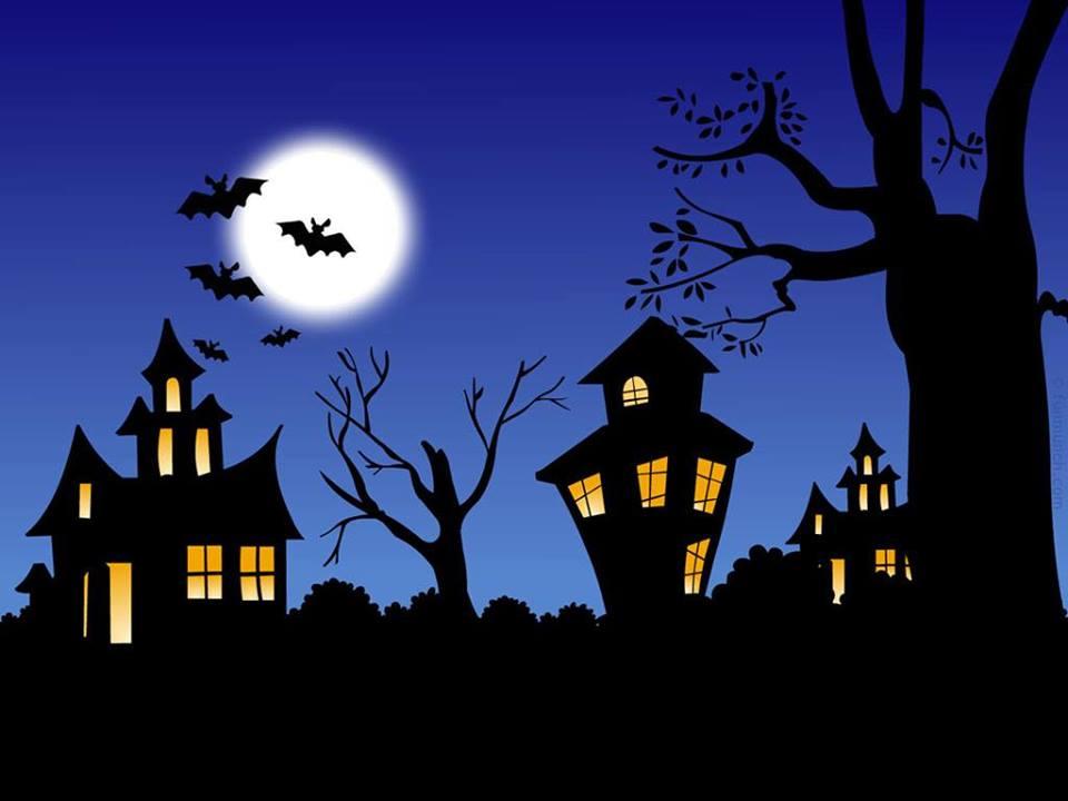 Spooky Halloween house!